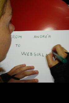 Webgirls Fansigns!